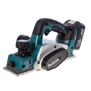 MAKITA Akumulatorowy strug do drewna DKP180RTJ